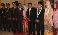 Bupati Cirebon, Drs. H. Sunjaya Purwadisastra, MM., M.Si., membuka Ekspo Pendidikan Kabupaten Cirebon.