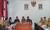 Rapat Dengar Pendapat antara Komisi III DPRD Kab. Cirebon bersama DPSDAP Kab. Cirebon, hari Selasa (5/5) kemarin.