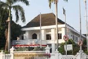 Gedung DPRD Kota Cirebon di Jl. Siliwangi Kota Cirebon.