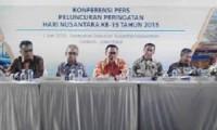Peringatan Hari Nusantara ke-15 di PPN Kejawanan yang dihadiri Menteri Energi Sumber Daya Mineral (ESDM) RI, Wakil Gubernur Jawa Barat dan Gubernur Propinsi Aceh.