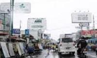 Padatnya Reklame di sepanjang Jalan Siliwangi Kota Cirebon.
