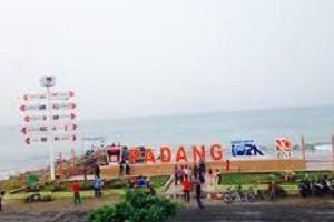 Kawasan Pantai Padang, Sumbar.