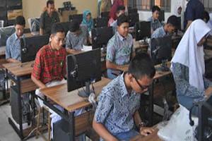 Berita Online Cirebon | UNBK SMPN Kota Cirebon