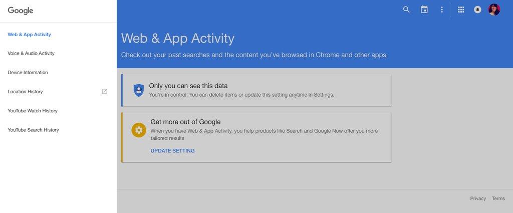 ISP KUNINGAN MENTARI - Tips Bersihkan Jejak Digital di Google  2